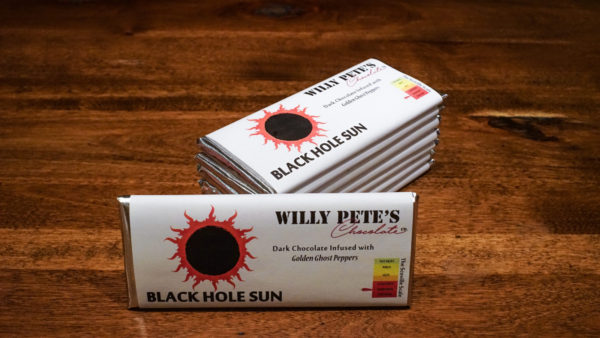 Black Hole Sun Chocolate Bar