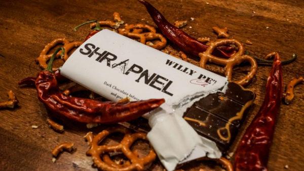Shrapnel Chocolate Bar Ingredients