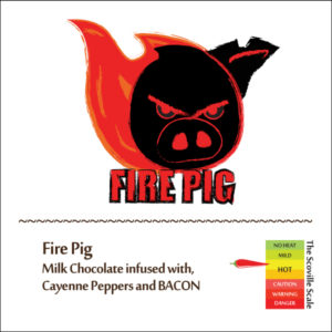 Fire Pig Chocolate Bar
