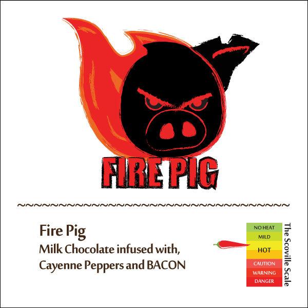 Fire Pig Chocolate Bar