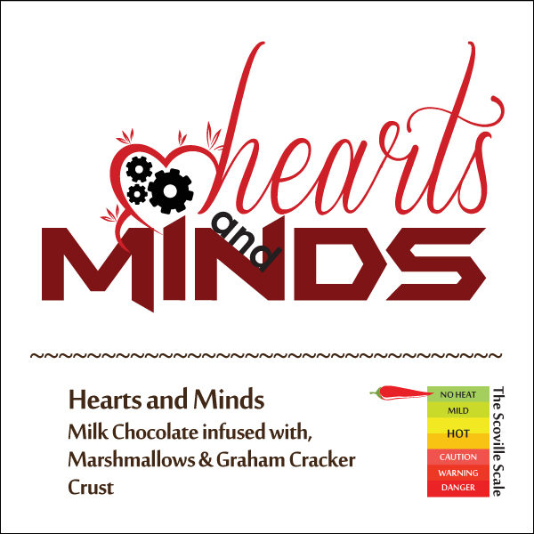 Hearts and Minds Chocolate Bar