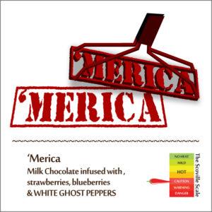 Merica Chocolate Bar